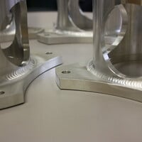 Aluminum Aerospace Tooling component by Lynn Welding, a GTAW approved Welder