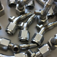 GTAW welding per Mil-W-8611 of stainless steel fuel system components.