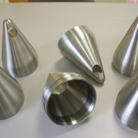 Tight tolerance CNC machining of nuclear component.