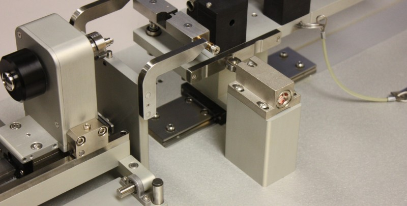 Custom assembly fixture.