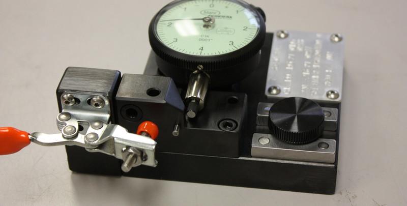 High precision inspection fixture.