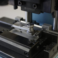 Assembly fixture using high-precision Wire EDM machined components