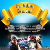 Lynn Welding gives back
