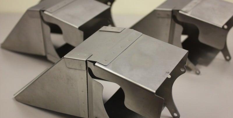 Resistance spot welding of stainless steel.